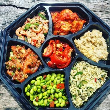 Divine seafood platter